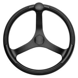 "Buy Schmitt & Ongaro Marine 742132BFGK Primus Wheel 13.5"" Black 3/4"""