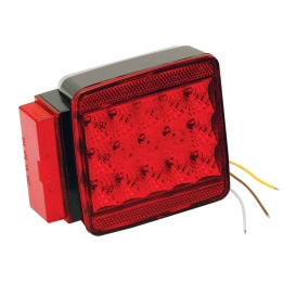 "Buy Wesbar 283008 LED Left/Roadside Submersible Taillight - Over 80"" -"