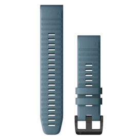 Buy Garmin 010-12863-03 QuickFit 22 Watch Band - Lakeside Blue Silicone -