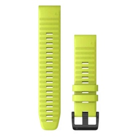 Buy Garmin 010-12863-04 QuickFit 22 Watch Band - Amp Yellow Silicone -