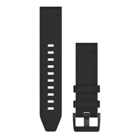 Buy Garmin 010-12740-01 QuickFit 22 Watch Band - Black Leather - Outdoor