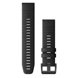 Buy Garmin 010-12863-00 QuickFit 22 Watch Band - Black Silicone - Outdoor