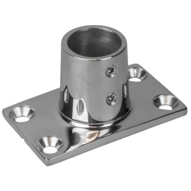 Buy Sea-Dog 281901-1 Rail Base Fitting Rectangular Base 90-deg 316