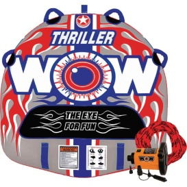 Buy WOW Watersports 18-1110 Thriller Starter Kit Towable - 1 Person -