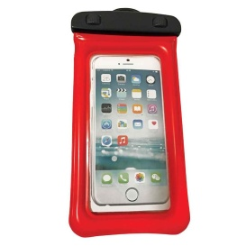 """Buy WOW Watersports 18-5000R H2O Proof Phone Holder - Red 4"""" x 8"""" -"""