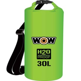 Buy WOW Watersports 18-5090G H2O Proof Dry Bag - Green 30 Liter - Outdoor