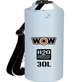 Buy WOW Watersports 18-5090C H2O Proof Dry Bag - Clear 30 Liter - Outdoor