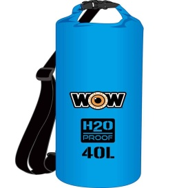 Buy WOW Watersports 18-5100B H2O Proof Dry Bag - Blue 40 Liter - Outdoor