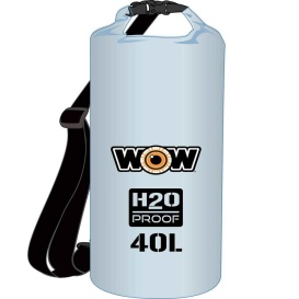 Buy WOW Watersports 18-5100C H2O Proof Dry Bag - Clear 40 Liter - Outdoor