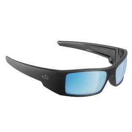 Buy H2Optix H2013 Waders Sunglasses Matt Gun Metal, Grey Blue Flash