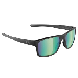 Buy H2Optix H2029 Coronado Sunglasses Matt Black, Brown Green Flash