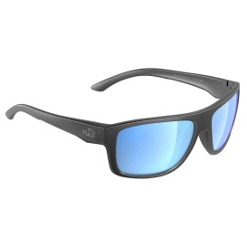 Buy H2Optix H2025 Grayton Sunglasses Matt Gun Metal, Grey Blue Flash
