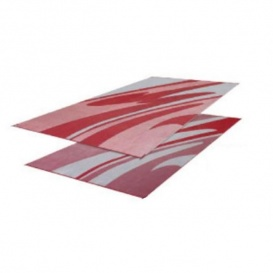 Buy Faulkner 46361 Patio Mat Mirage 8X16 Burgundy - Camping and Lifestyle