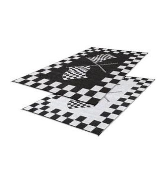 Buy Faulkner 48707 Patio Mat Finish Line 6X9 - Camping and Lifestyle