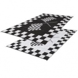 Patio Mat Finish Line 9X12