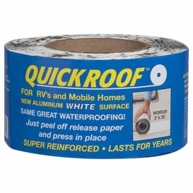 """Buy Cofair Products WQR325 White 3"""" X 25' Quick Roof - Unassigned"""