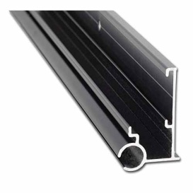 Buy AP Products 021-56302-16 (5) Gutter/Awning Rail 16' Black Pk5 -