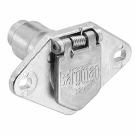 Buy Bargman 50-60-001 6-Way Metal Car End 50-6 - Towing Electrical