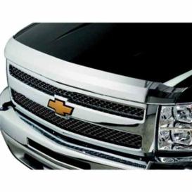 Buy Stampede 2042-8 Hood Deflector Chrome Silverado 1500 07-13 - Custom