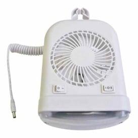 Buy Lasalle Bristol 410SMDFAN6008RT 12V Led Lamp & Fan Combo - Lighting