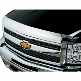 Buy Stampede 2156-8 Hood Deflector Chrome Ford Super Duty 17-20 - Custom