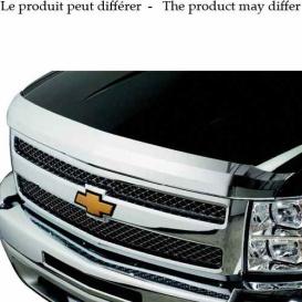Buy Stampede 2321-8 Hood Deflector Chrome Toyota Tundra 07-13 - Custom