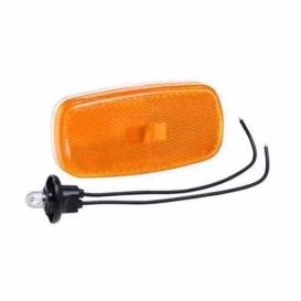 Buy Bargman 30-59-002 Clr.Light Lens Amb.W/Base 2Pcs - Lighting Online RV