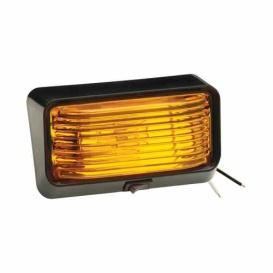 Buy Bargman 30-78-525 (2)Porch Lite Amber Blk Base - Lighting Online|RV