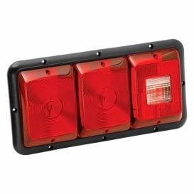 Buy Bargman 30-84-009 Triple T.Light Red W/Backup - Lighting Online RV