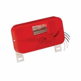Buy Bargman 30-92-004 Red Taillight W/License Brkt - Lighting Online RV
