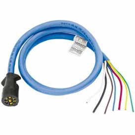 Buy Bargman 54006-009 7-Way Connec. 6` - Towing Electrical Online|RV Part