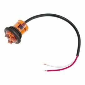 "Buy Bargman 54201-006 Hi Inten. Micro Led Amber 1"" - Lighting Online RV"