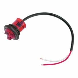 "Buy Bargman 54201-007 Hi Int. Micro Led Red 1"" - Lighting Online RV Part"