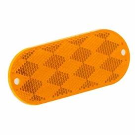 Buy Bargman 70-78-020 Amber Oval Reflector - Lighting Online|RV Part Shop