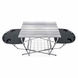 Buy Camco 57295 Deluxe Grilling Table W/Side Tables - Grills &