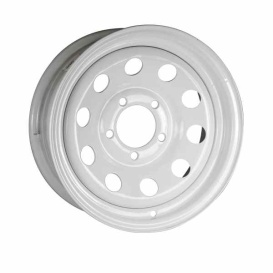 Buy Ceco CD935612 Modular 15X6 5-114.3 -3N C84 White - Wheels and Parts