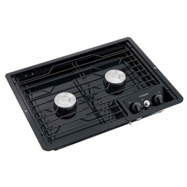 Buy Dometic Corp 50216 Drop-In Cooktop 2 Burner,Stainless, 12V Lighter -