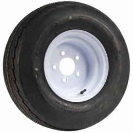 Buy Greenball T1026C-W1065RW Tire/Rim Wht 20.5X8X10 5-4.5 - Tires