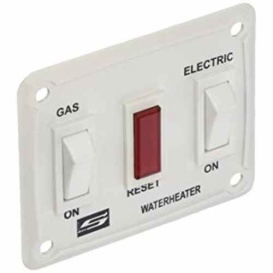 Buy Suburban 232882 Del Model 12 Volt On/Off Switch White - Furnaces