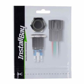 """Buy Metra IBRBSB16 16Mm Black Switch With 5/8"""" Hole (Blue) - Switches and"""