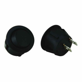 Buy Metra IBRRS (5)Round Rocker Switch No Leads On/Off 13Amp - Switches