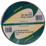"Buy JR Products 11261 3/4""X50' Narrow Vinyl Insert - Black - Hardware"