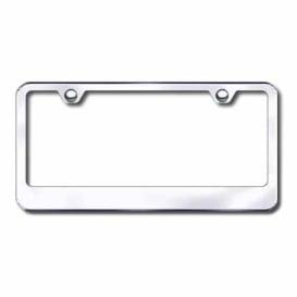 Buy Plain Plate Frame 2Hole Chr Automotive Gold LF.462.C - License Plates