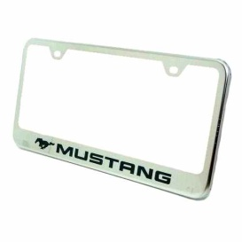 Buy License Plate Cover Stainless Automotive Gold LF.MUS.EC - License