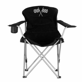 Buy Mings Mark 36029 Foldable Recliner Camp Chair Black - Patio Chairs