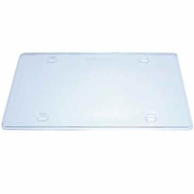 Buy License Plate Frame Clear CLA 09-861 - License Plates Online|RV Part