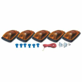 Buy Pacer Performance 20-220 Chevy Style Amber 5 Light K - Emergency