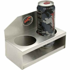 Tow Rax Al Cup Holder - 2 Cup Capacity