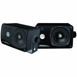 """Buy Pyle PLMR24B Speaker 3.5"""" 200W Black Mini - Marine Audio Video"""