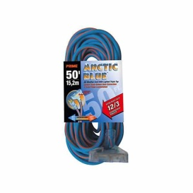 Extension Cord 50Ft 12/3 Artic Blue